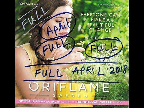 Oriflame April Full Catalog HD 2018