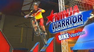 NINJA WARRIOR à VÉLO !