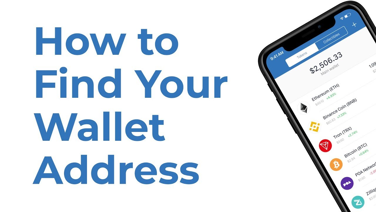 how to find cryptocurrency address