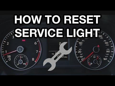 How To Reset VW Passat Service Light (2012-2016)