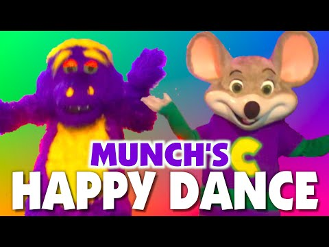 Mr. Munch and Chuck E. Cheese - Live Performance