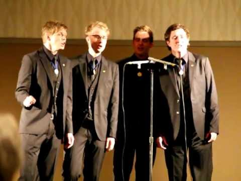 RINGMASTERS! Barbershop Quartet 2012 International ...