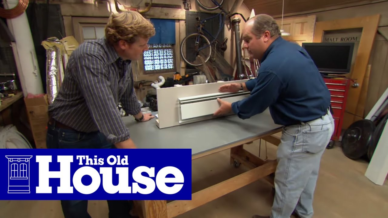 How to Upgrade Baseboard Heating | This Old House