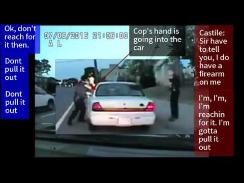 Analysis of New Dash Cam Footage with Editing and Magnification of Philando Castile Shooting