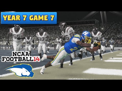 Their Best Shot | vs VT (S7, G7) | NCAA Football 14 TeamBuilder Dynasty Ep. 110
