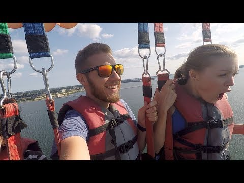 PARASAILING on an 800 Foot Leash!!! (8.20.17)