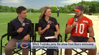 QB Mitch Trubisky joins the show from Bears Minicamp   2019