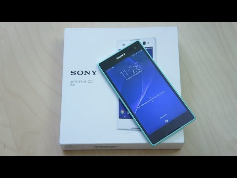 Обзор Sony Xperia C3: сэлфи-фон с большим экраном