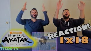 """Avatar The Last Airbender 1x18 REACTION!! """"The Waterbending Master"""""""