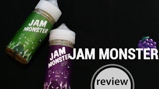 jAM MONSTER   обзор жидкости  новые вкусы