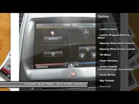 2015 Ford Taurus Brookings Sd F5038 Youtube