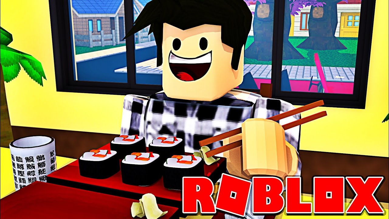 Je Suis Un Maitre Sushi Roblox Sushi Factory Tycoon Youtube
