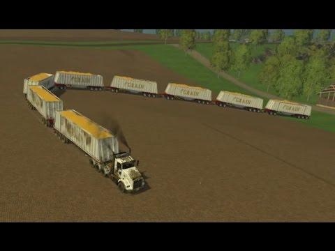 FS 2015 #12 | Tren de Carretera | Vendiendo la cosecha
