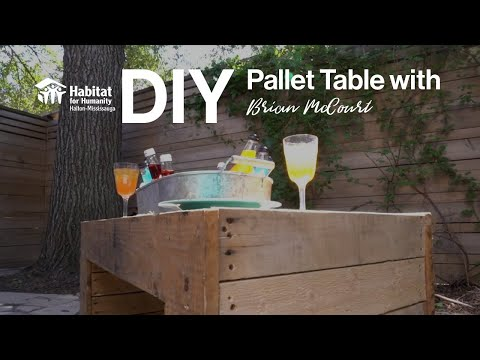 DIY Pallet Table with HGTV's Brian McCourt