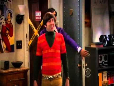 hey qu 39 est ce que sup howard wolowitz big bang theory s02e01 youtube. Black Bedroom Furniture Sets. Home Design Ideas