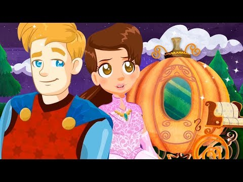 CINDERELLA, story for children,  fairy tales and songs for kids