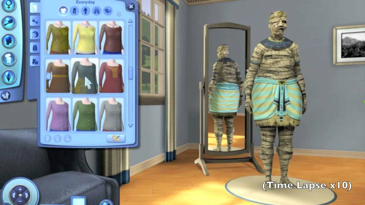 Sims 3 zombie cyborg 39 how to 39 mod youtube for Mods sims 4 muebles