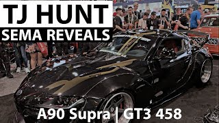 TJ Hunt Ferrari GT3 458 and StreetHunter Toyota Supra SEMA reveal
