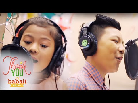 "ABS-CBN Christmas Station ID 2014 ""Thank You, Ang Babait Ninyo"" Lyric Video"