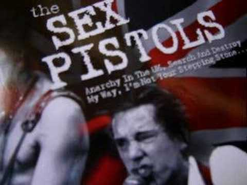 Sex pistols my way french promo poster