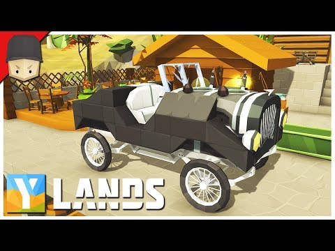 YLANDS - CARS! : Ep.30 (Survival/Crafting/Exploration/Sandbox Game)