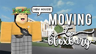 MOVING TO BLOXBURG | ROBLOX (NEW HOUSE)