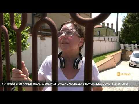 VIA TRIESTE: UN MARE DI DISAGI A DUE PASSI DALLA CASA DELLA SINDACA... E LEI DOV'E'? | 12/06/2021