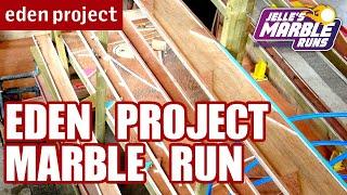 Big Marble Run with Giant Plinko Board @ Eden Project - Jelle's Marble Runs