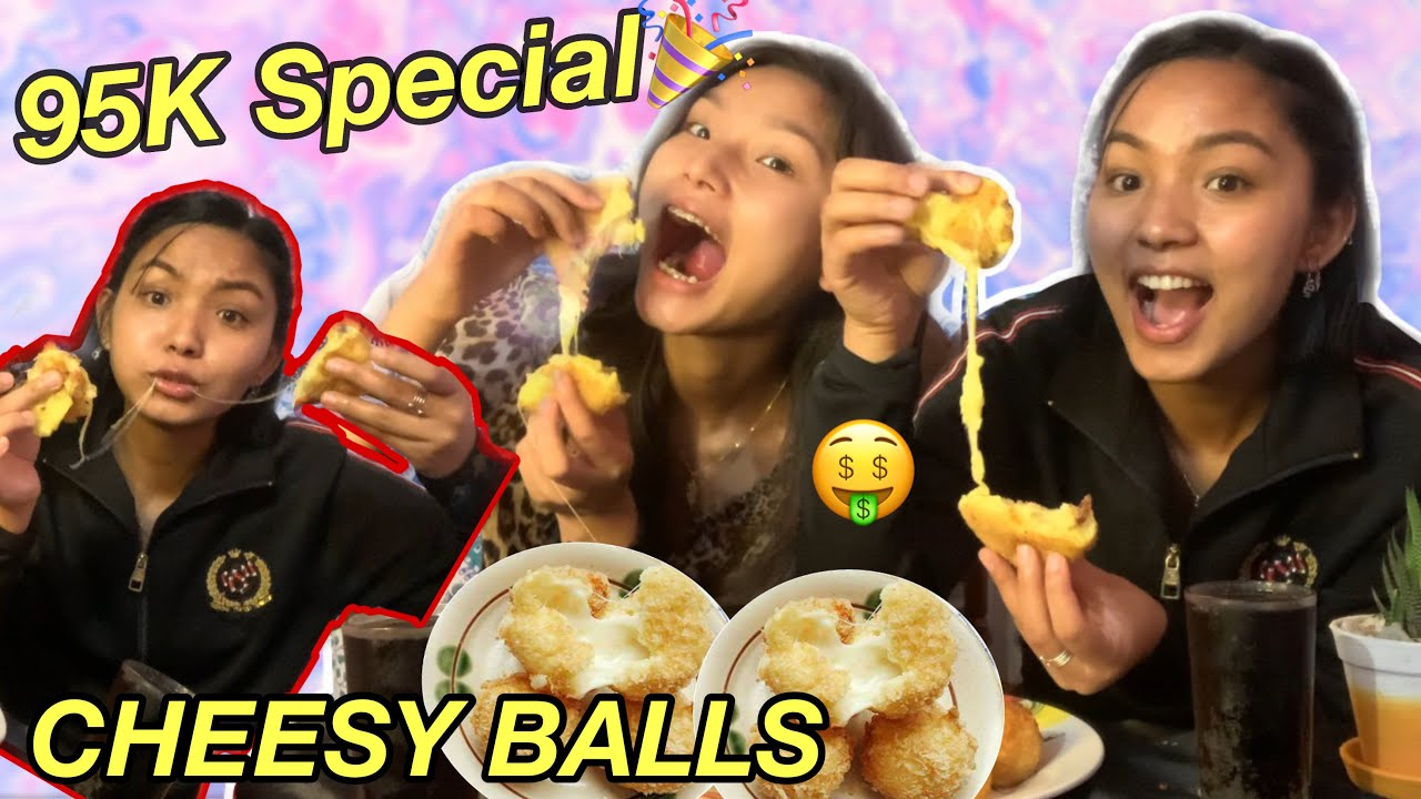 95K Subscribers Special🥺❤️🎉 | Making CHEESE BALLS🤤 For the First Time ! | COOK With LAXMI 👩🍳