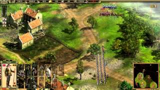 Cossacks II Napolianic Wars: Gameplay commentary/ stronghold