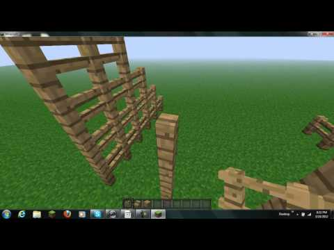How to make a basketball court on minecraft doovi for How to build a basketball court