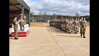 Queen's Gurkha Engineers Recruit Intake 19 attestation