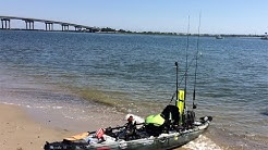Atlantic City Kayak Fishing for Flounder