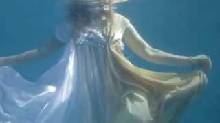 КРАСИВО! Русалина Селентай,съёмки клипа(вода)