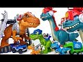 A Giant T-Rex Is Gone Mad~! Go Chomp Squad Blaze Asaurus #ToyMartTV