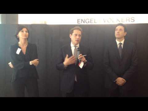 Inaugurazione E&V monza: ospiti Fabrizio Bassano e Alessandro Caviglia UBS Italia