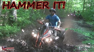 WICKED ATV TRAILS JUST THE WAY WE LIKE THEM...NORTH RIDE PT 6