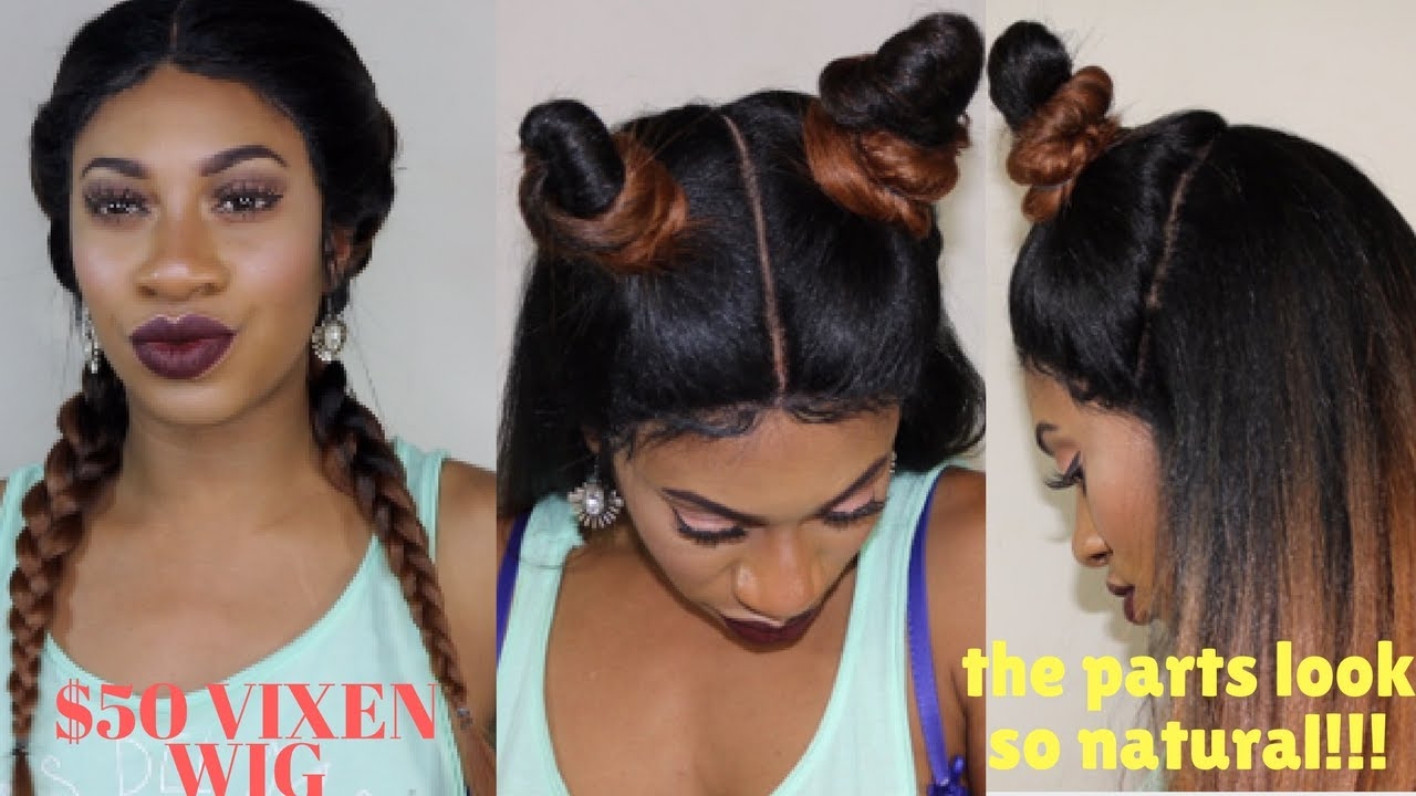 Vixen Sew In New Outre Vixen Wig Tutorial Styling