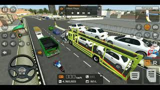 MOD TRUK NISSAN ANGKUT MOBIL | BUSS ID | Bus Simulator Indonesia | Game Truck | Permainan Simulator