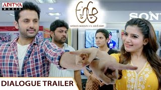 Samantha Dialogue Trailer  || A Aa Telugu Movie || Nithiin, Samantha , Trivikram, Mickey J Meyer
