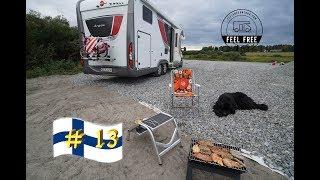 Der Tag der nicht enden wollte! ABER am Ende wird gegrillt :-) - Finnland Womo Rundreise #13