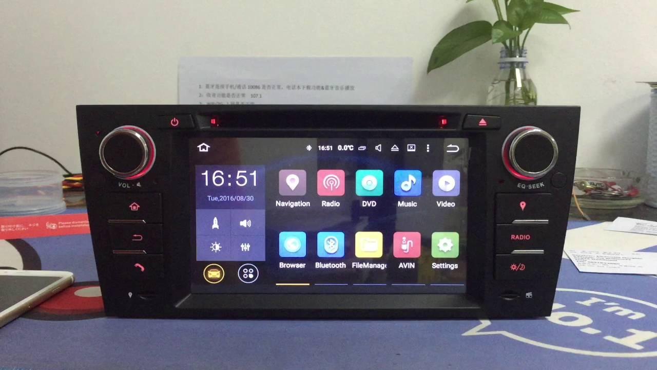 Zk 2567b android 5 1 bmw e90 3 series car multimedia player zonteck autoradio gps