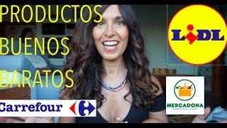 PRODUCTOS BUENOS Y BARATOS DE..LIDL,MERCADONA Y CARREFOUR