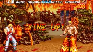 Fatal Fury 3 (Neo Geo AES) Arcade as Andy Bogard