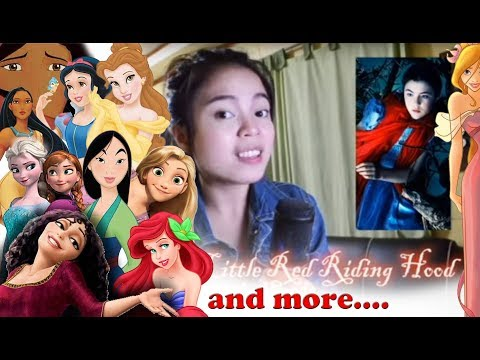 1 Girl 15 Disney Songs + 1 DreamWorks (Filipina)