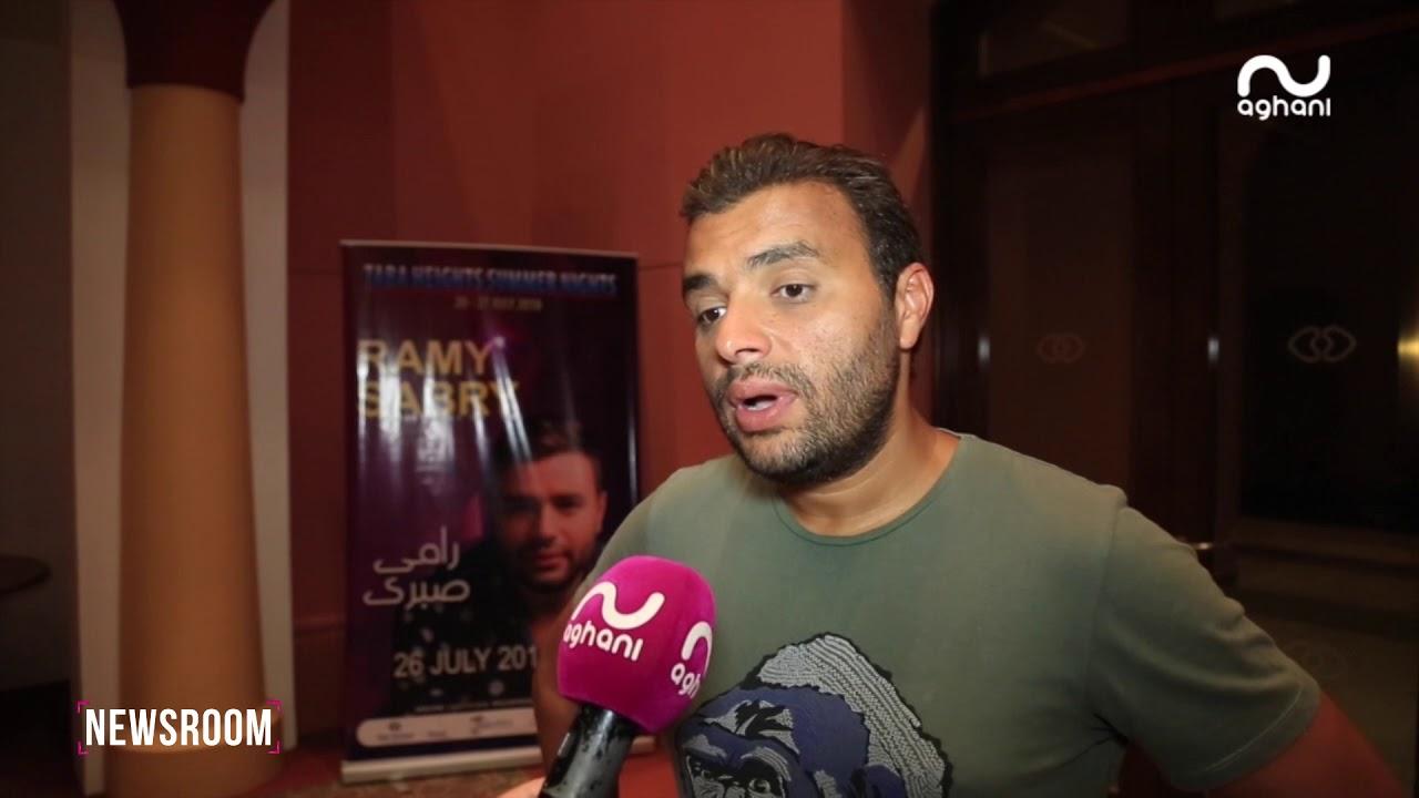 رامي صبري يكشف من طابا حقيقة خلافه مع تامر حسني!