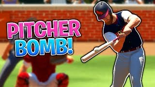My Pitcher Hit The Game Winning Homerun! MLB The Show 18   Diamond Dynasty thumbnail