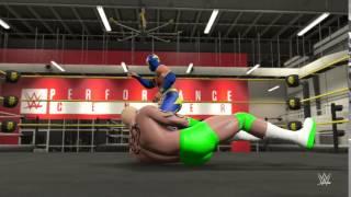 WWE 2K15 MY CAREER PART 1 - SIN CARA - GETTING STARTED