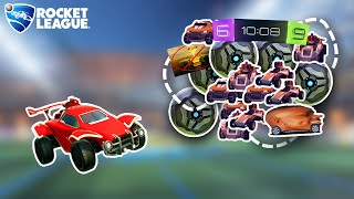 100+ mods in Rocket League at once