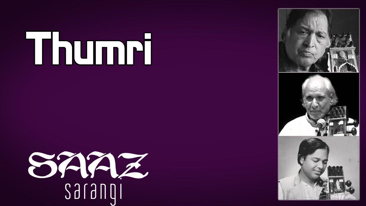 Thumri | Ustad Sultan Khan | Sabri khan | Ram narayan (Album: Saaz Sarangi)